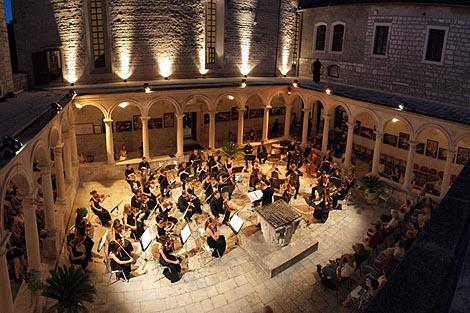 Orchestra Mitteleuropea, Udine, u Zadru, foto: Vedran Penga