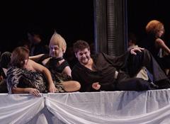 HNK u Zagrebu: Claudio Monteverdi, Orfej, dirigent Hervé Niquet, redatelj Ozren Prohić, foto Damil Kalogjera