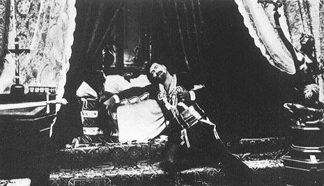 Francesco Tamagno (Otello) i Romilda Pantaleoni (Desdemona), na premijeri u Scali 1887.