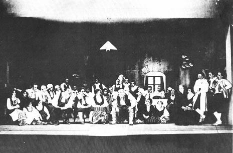 Povratak na praizvedbi u Zagrebu 21. ožujka 1911.