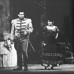 Carmen, Huston, 1967. – Placido Domingo (Don José) i Ruža Pospiš Baldani (Carmen)