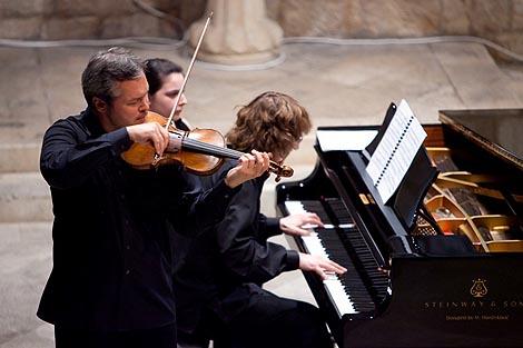 Vadim Repin, violina, i Sergei Tarasov, klavir, u Dubrovniku
