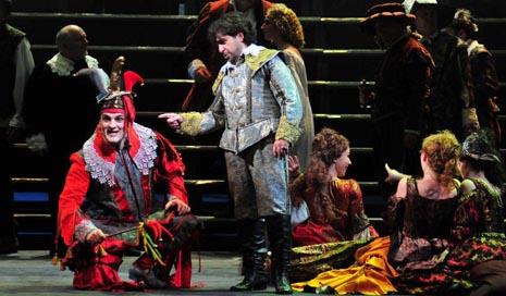 Hrvatsko narodno kazalište u Zagrebu: Giuseppe Verdi, Rigoletto, dir. Mihail Sinkevič, red. Krešimir Dolenčić, foto: © Novkovićć