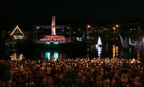 Otvaranje Riječkih ljetnih noći 2010.
