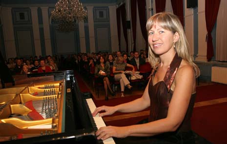 Rita Kinka na koncertu u Osijeku