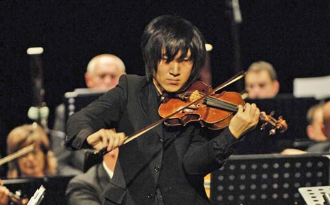 Sho Akamatsu na Koncertu Neka cijeli ovaj svijet u HNK u Osijeku