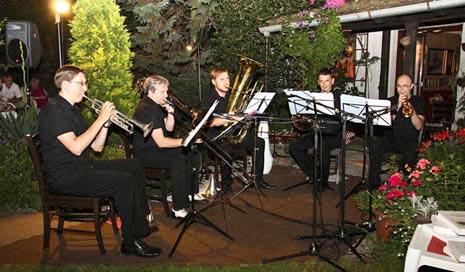Simply Brass kvintet u Salonu Očić, foto: Marko Horvat, koprivnica.net