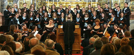Zbor i solisti Glazbene škole u Varaždinu, Royal Academy of Music Baroque Orchestra i dirigent Laurence Cummings