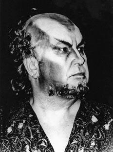 Tomislav Neralić kao Klingsor u Berlinu 1974.