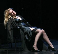 Margareta Klobučar (Violetta Valery); HNK Ivana pl. Zajca u Rijeci, Giuseppe Verdi, Traviata, dir. Nikša Bareza, red Janusz Kica