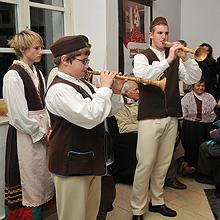 Folklor se voli i u školi, predvorje INK u Puli, 5. studenoga 2009.