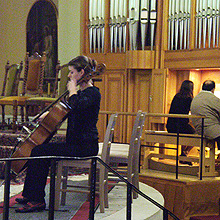 Elizabetin svijet, Elizabeta Zalović, violončelo, Neva Begović, orgulje, Katedrala Uznesenja Blažene Djevice Marije, 7. studenoga 2009.
