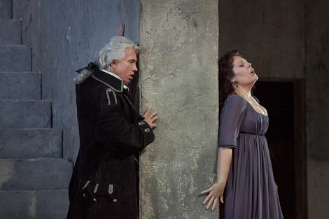 The Metropolitan Opera, New York: Giuseppe Verdi, Trubadur, dir. Marco Armiliato, red. David McVicar, foto: Ken Howard / Metropolitan Opera