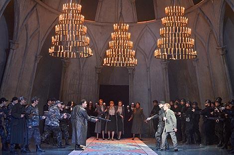 Hrvatsko narodno kazalište u Zagrebu: Giuseppe Verdi, Trubadur, dir. Mihail Sinkevič, red. Andrejs Žagars, foto: © Novković