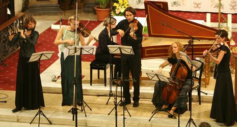 Collegium Marianum na završnom konvetu Varaždinskih baroknih večeri 2009.
