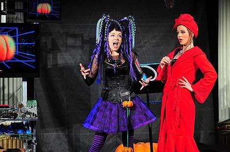 Hrvatsko narodno kazalište u Zagrebu: Peter Lund, Vještica Hillary ide u operu, red. Ivan Leo Lemo, foto: © Novković
