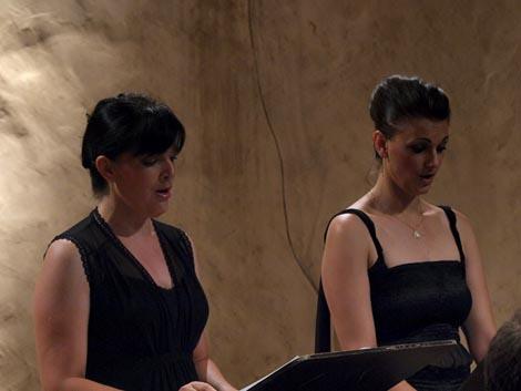 Adela Golac Rilović i Nera Gojanović Kljajić, foto: Vedran Penga