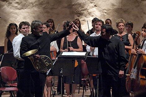 Radovan Vlatković, Ivan Repušić i Zadarski komorni orkestar, foto: Vedran Penga