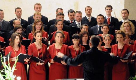 Akademski zbor Bazilike Srca Isusova u Zagrebu Palma, arhivska fotografija