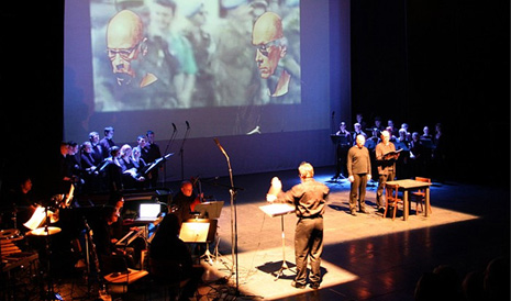 Miro Dobrowolny, Srebrenica (Zilverstad, oratorijski scenarij), dir. Miro Dobrowolny
