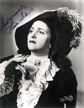 Zinka Milanov kao Leonora, New Orleans 1953.