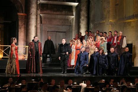 Splitsko ljeto: Giuseppe Verdi, Don Carlos, dir. Ivan Repušić, red. Petar Selem, foto: Leo Nikolić, T-portal