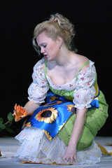 Margareta Klobučar kao Sophie u Wertheru