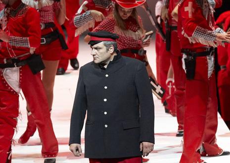 Bečka državna opera: Giuseppe Verdi, <i>Moć sudbine</i>, dirigent Philippe Auguin, red. David Pountney; Željko Lučić (Don Carlos)