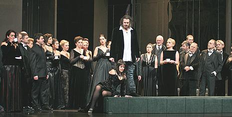 HNK Ivana pl. Zajca: Giuseppe Verdi LA TRAVIATA; Olga Kaminska, Davor Lešić i Zbor