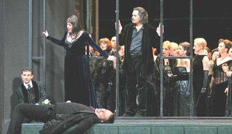 HNK Ivana pl. Zajca: Giuseppe Verdi LA TRAVIATA; Olga Kaminska, Davor Lešić, Saša Matovina, Davor Bercich